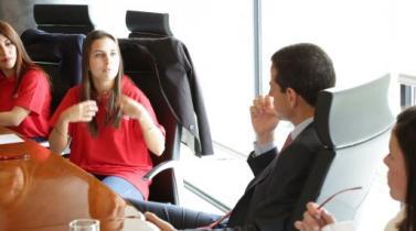 Joven universitaria de 22 años será nueva CEO de Adecco en Perú por un mes