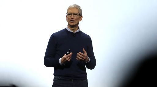 Tim Cook, CEO de Apple. (Foto: AFP)