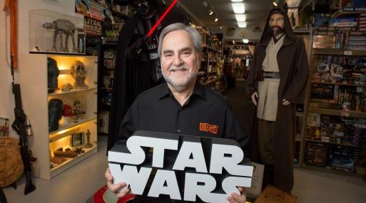 Roban la mayor parte de la colección de Star Wars