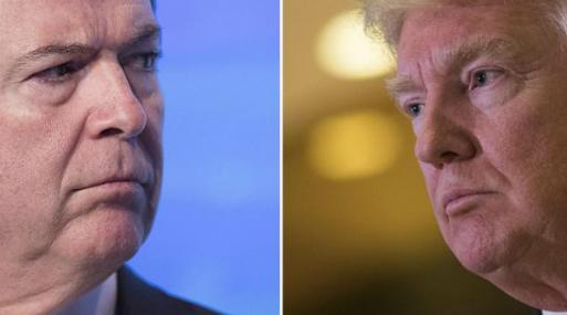 Trump: testimonio de Comey demostró que no hubo