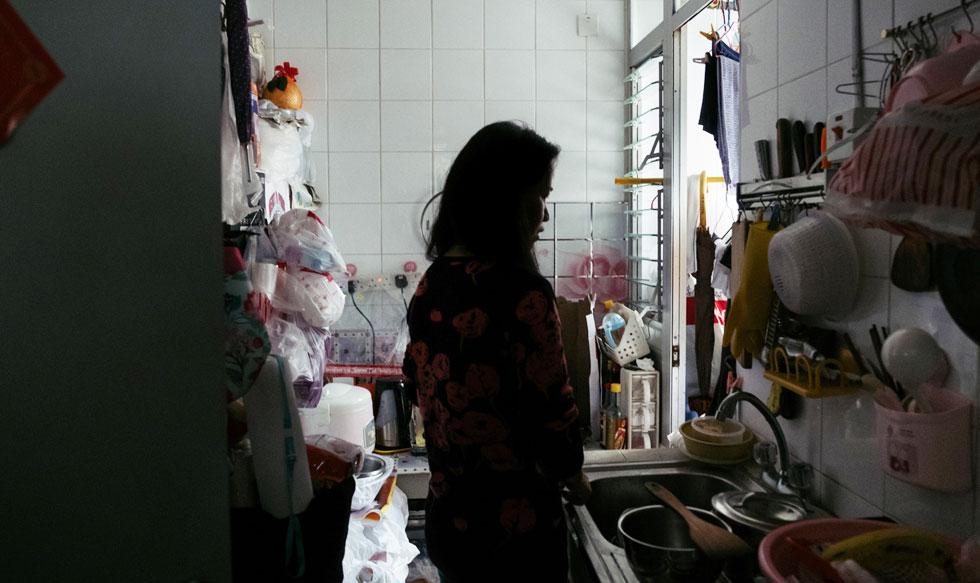 Pobreza, Hong Kong, ciudad, magnates, vida
