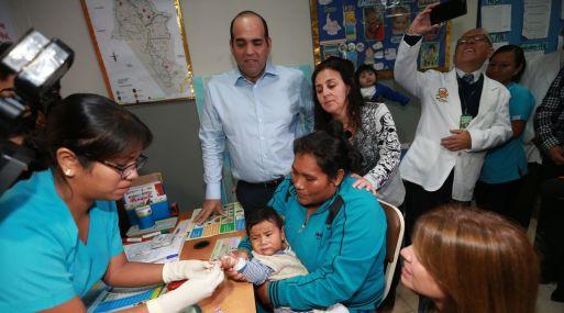 Se lanza Plan Nacional de Reducción de Anemia y Desnutrición Infantil