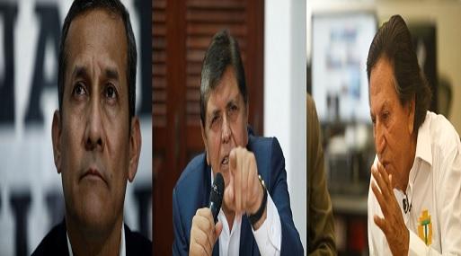 Odebrecht: Fiscalía citará a Toledo, García y Humala por proyecto Olmos