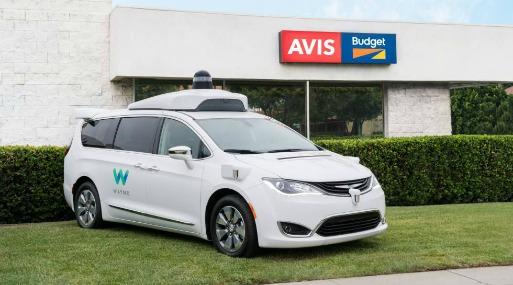 Avis colaborará con Waymo en programa de coches autónomos