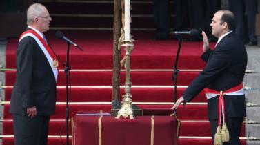 Fernando Zavala jurará hoy como titular del MEF por segunda vez