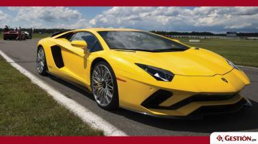 Conozca al Aventador S, el nuevo Lamborghini que dobla con sus cuatro ruedas