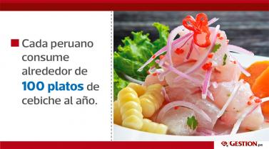 Día del cebiche: Los números detrás del plato bandera del Perú