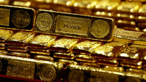 Los futuros del oro en Estados Unidos caían un 0.3%, a US$ 1,209.7 la onza.