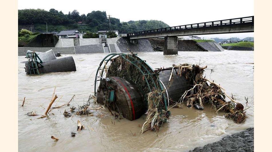 japón, inundacion en japón