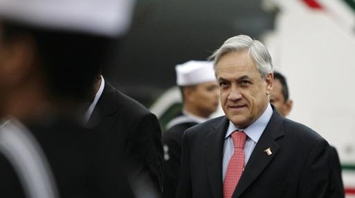 Exalmar: Fiscal Guerra notifica cierra de investigación contra Piñera sin formalizarlo
