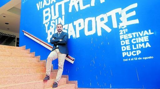 Christian Meier debuta como director en Festival de Cine de Lima