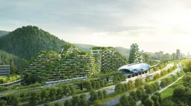 China empieza a construir su ciudad-verde futurista y autosuficiente
