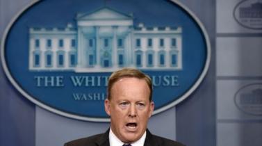 Portavoz de la Casa Blanca Sean Spicer renuncia tras decisión de Trump