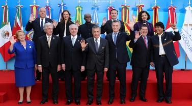 Mercosur busca agilizar acercamiento comercial con Alianza del Pacífico