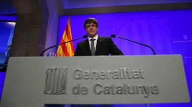 España: Cae apoyo a independencia catalana, según sondeos