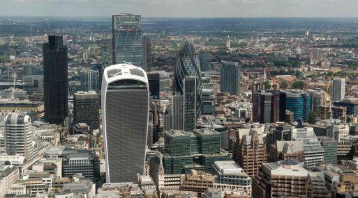 El rascacielos Walkie Talkie, ubicado en el número 20 de Fenchurch Street, cuenta con 34 pisos. (Foto: AFP)