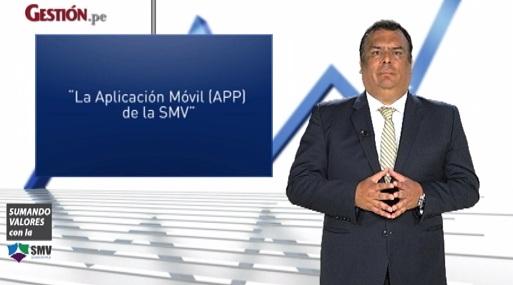La nueva aplicación móvil de la SMV
