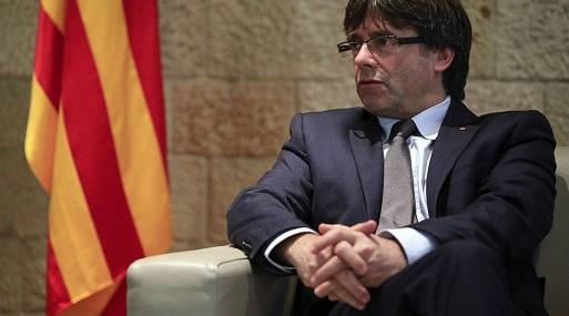 El presidente regional de Cataluña, Carles Puigdemont. (Foto: Bloomberg)