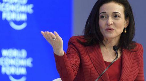 Sheryl Sandberg, COO de Facebook.
