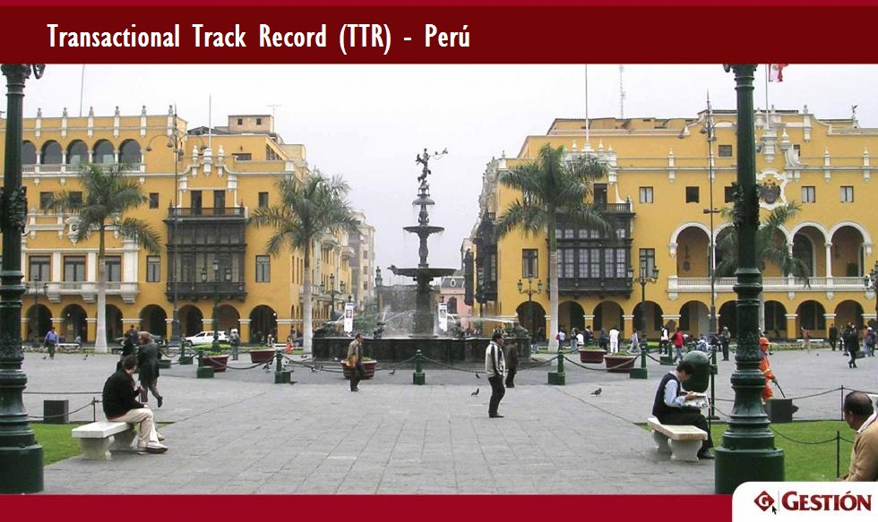 Perú, Brasil, América Latina, Chile, adquisiciones, TTR