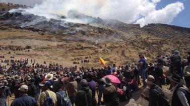 PCM declara Estado de Emergencia en distritos cercanos a mina de cobre Las Bambas
