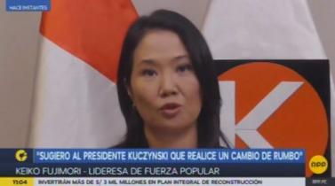 Keiko ofrece facultades legislativas al Gobierno para solucionar la huelga docente