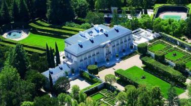 La mansión más cara de los Estados Unidos llega al mercado en Bel-Air por US$ 350 millones