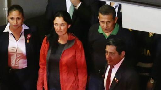 Presentan hábeas corpus para excarcelar al expresidente Humala y Nadine Heredia