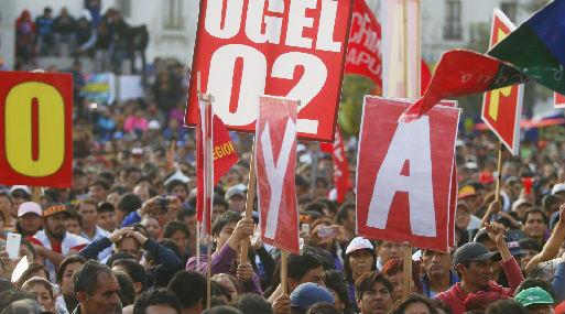 Huelga de maestros se suspende y clases se normalizan este lunes [VIDEO]