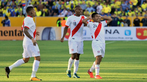 Perú venció a Ecuador y puso un pie en el Mundial Rusia 2018. (Foto: USI).