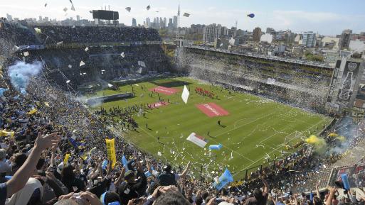 La Bombonera, el estadio de Boca Juniors, albergará el partido entre Perú y Argentina. (Foto: AP).