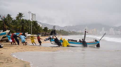 Pronostican fuertes tormentas en Oaxaca, Chiapas y Guerrero