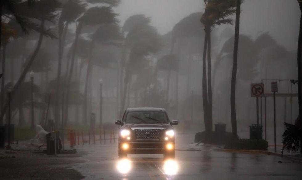 Huracán Irma llega a Florida y esta es su huella de destrucción