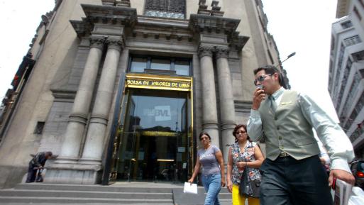 Bolsa de Valores de Lima finaliza con resultados mixtos: baja 0.36%