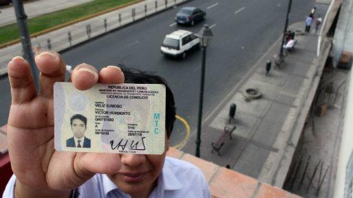 Se aproxima la era digital de las licencias de conducir. (Foto: Andina)
