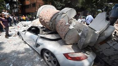 Terremoto en México: Estas son las primeras imágenes del sismo de 7.1 grados