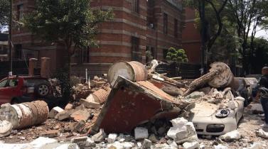 Terremoto en México: Más imágenes del sismo de 7.1 grados en Morelos y Puebla