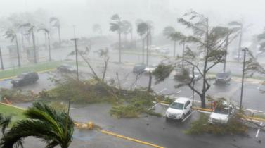 Huracán María llegó a Puerto Rico ocasionando inundaciones y daños