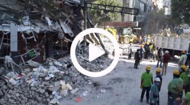 Terremoto en México: Ascienden a 217 los fallecidos, rescatistas buscan sobrevivientes