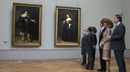 136090 - El Louvre y el Rijksmuseum compartirán los retratos de Marten Soolmans y Oopjen Coppit de Rembrandt