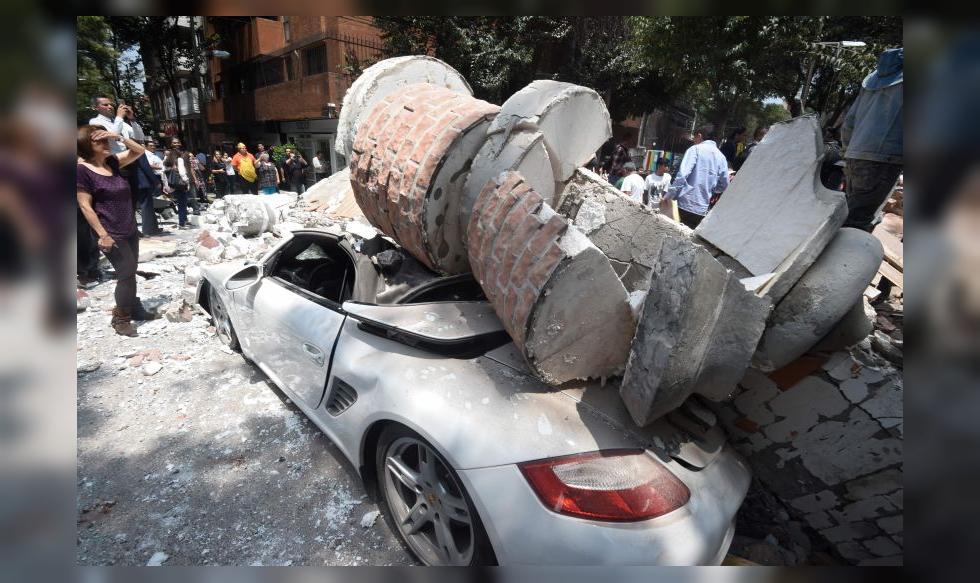 Resultado de imagen para sismo 7.1 Mexico